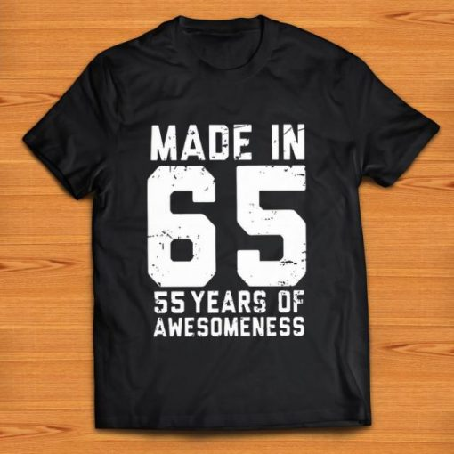 Awesome Made in 65 55 years of awesomeness shirt 1 2 1 510x510 - Awesome Made in 65 55 years of awesomeness shirt