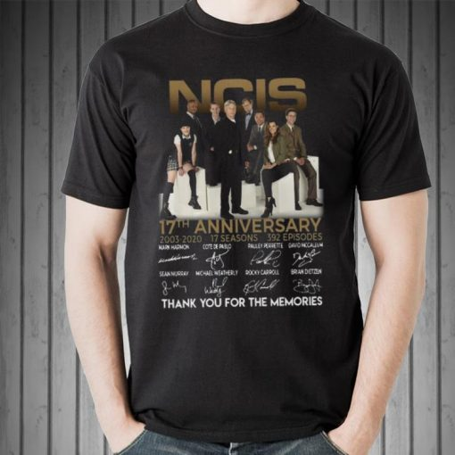 Awesome NCIS 17th anniversary 2003 2020 thank you for the memories shirt 2 1 510x510 - Awesome NCIS 17th anniversary 2003 – 2020 thank you for the memories shirt