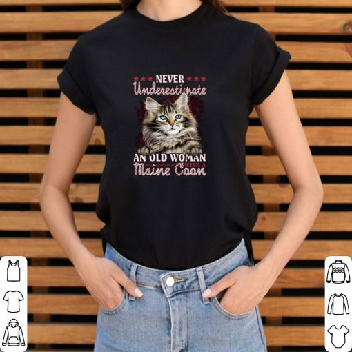 Awesome Never underestimate an old woman with a Maine Coon cat shirt 3 1 510x510 - Awesome Never underestimate an old woman with a Maine Coon cat shirt