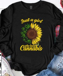 Awesome Sunflower just a girl who loves Cannabis shirt 1 1 247x296 - Awesome Sunflower just a girl who loves Cannabis shirt