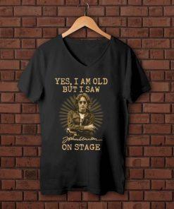 Awesome Yes I am old but I saw John Lennon on stage shirt 1 1 247x296 - Awesome Yes I am old but I saw John Lennon on stage shirt
