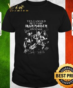 Awesome Yes i am old but i saw Iron Maiden on stage signatures shirt 1 1 247x296 - Awesome Yes i am old but i saw Iron Maiden on stage signatures shirt