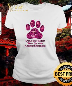Funny Easily distracted by flamingos and dogs shirt 2 1 247x296 - Funny Easily distracted by flamingos and dogs shirt