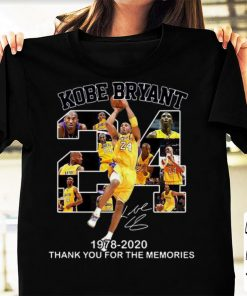 Nice 24 Kobe Bryant 1978 2020 Thank You For The Memories Signature shirt 1 1 247x296 - Nice 24 Kobe Bryant 1978 2020 Thank You For The Memories Signature shirt