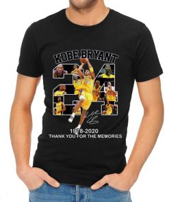 Nice 24 Kobe Bryant 1978 2020 Thank You For The Memories Signature shirt 2 1 247x296 - Nice 24 Kobe Bryant 1978 2020 Thank You For The Memories Signature shirt