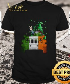 Nice Gnome Driving Jeep car St Patrick s Day shirt 1 1 247x296 - Nice Gnome Driving Jeep car St. Patrick's Day shirt