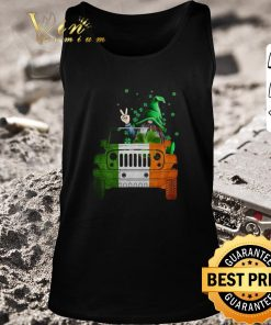 Nice Gnome Driving Jeep car St Patrick s Day shirt 2 1 247x296 - Nice Gnome Driving Jeep car St. Patrick's Day shirt