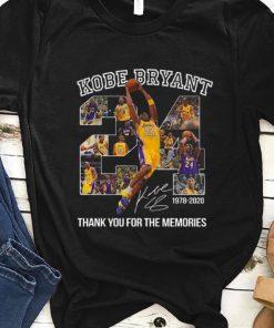 Nice Kobe Bryant 24 1978 2020 Thank You For The Memories shirt 1 1 247x296 - Nice Kobe Bryant 24 1978 2020 Thank You For The Memories shirt