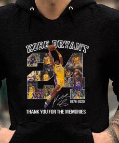 Nice Kobe Bryant 24 1978 2020 Thank You For The Memories shirt 2 1 247x296 - Nice Kobe Bryant 24 1978 2020 Thank You For The Memories shirt