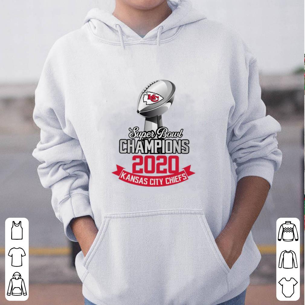 Original Super Bowl LIV Champions 2020 Kansas City Chiefs signatures shirt