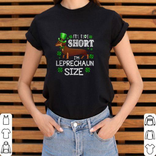 Premium Dachshund I m not Short I m Leprechaun size shirt 3 1 510x510 - Premium Dachshund I'm not Short I'm Leprechaun size shirt