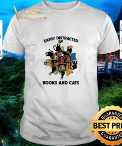 Premium Librarian easily distracted by books and cats black shirt 1 1 247x296 - Premium Librarian easily distracted by books and cats black shirt