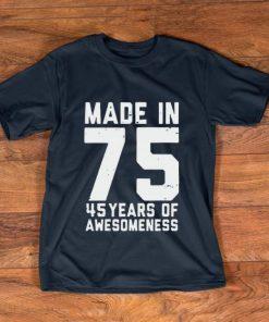 Premium Made in 75 45 years of awesomeness shirt 1 1 247x296 - Premium Made in 75 45 years of awesomeness shirt