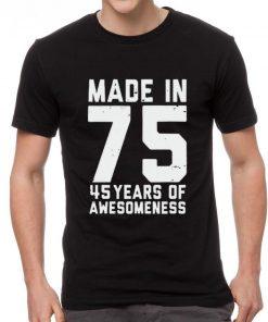Premium Made in 75 45 years of awesomeness shirt 2 1 247x296 - Premium Made in 75 45 years of awesomeness shirt