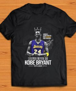 Pretty Legends Never Die Kobe Bryant 1978 2020 Heroes Come And Go But Legend Are Forever Signature shirt 1 1 247x296 - Pretty Legends Never Die Kobe Bryant 1978 2020 Heroes Come And Go But Legend Are Forever Signature shirt