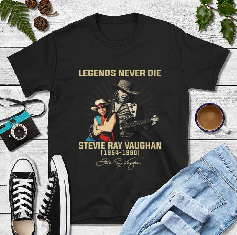 Pretty Legends Never Die Stevie Ray Vaughan 1954 1990 Signature shirt