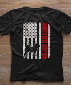 Pretty World s Best Akita Dad American Flag shirt 1 1 247x296 - Pretty World's Best Akita Dad American Flag shirt