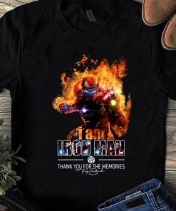 Top I Am Iron Man Thank You For The Memories Signature shirt 1 1 247x296 - Top I Am Iron Man Thank You For The Memories Signature shirt