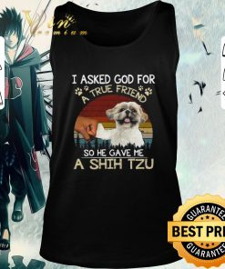 Top I ask God for a true friend so he gave me a Shih Tzu vintage shirt 2 1 247x296 - Top I ask God for a true friend so he gave me a Shih Tzu vintage shirt