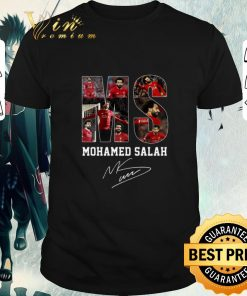 Top MS Mohamed Salah signature Liverpool shirt 1 1 247x296 - Top MS Mohamed Salah signature Liverpool shirt