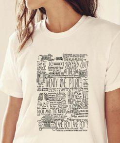 Top Twenty One Pilots Lane Boy Lyrics shirt 2 1 247x296 - Top Twenty One Pilots Lane Boy Lyrics shirt