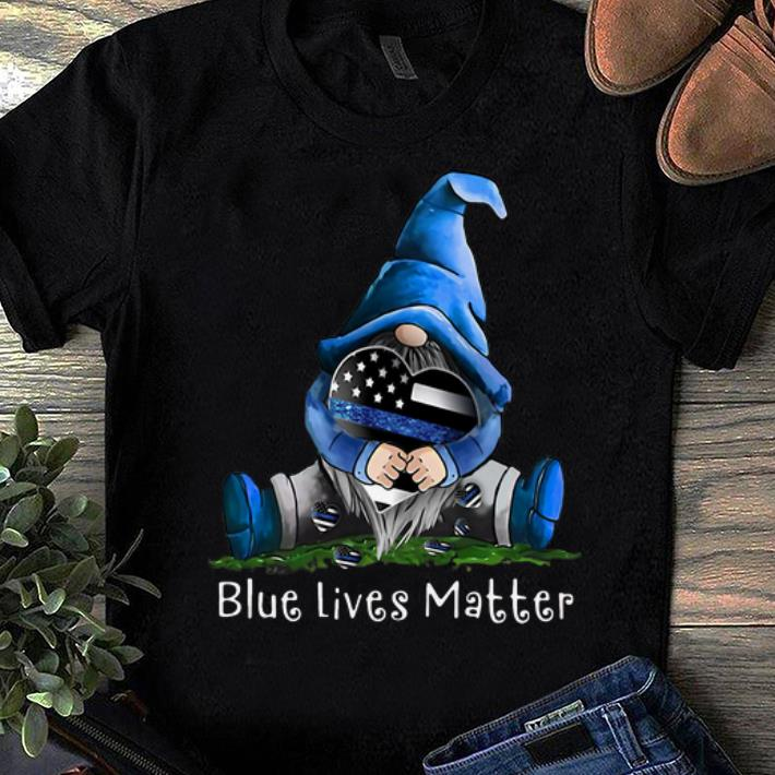Awesome Gnome Blue Lives Matter shirt 1 1 - Awesome Gnome Blue Lives Matter shirt