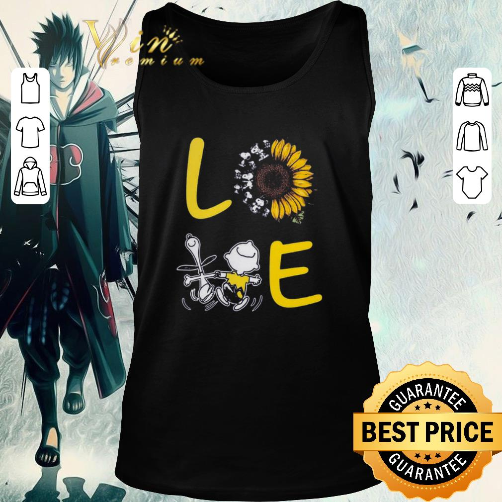 Awesome Love Sunflower Snoopy And Charlie Brown shirt 2 1 - Awesome Love Sunflower Snoopy And Charlie Brown shirt