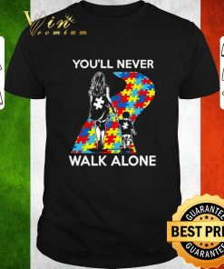 Awesome Mother and son You ll never walk alone Autism road shirt 1 1 247x296 - Awesome Mother and son You'll never walk alone Autism road shirt
