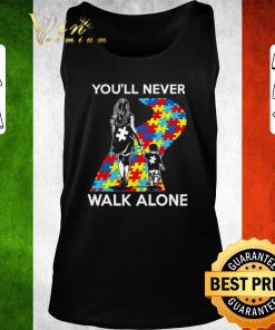 Awesome Mother and son You ll never walk alone Autism road shirt 2 1 247x296 - Awesome Mother and son You'll never walk alone Autism road shirt