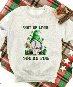 Awesome Shut Up Liver You re Fine Gnome Beer Saint Patrick s Day shirt 1 1 247x296 - Awesome Shut Up Liver You're Fine Gnome Beer Saint Patrick's Day shirt