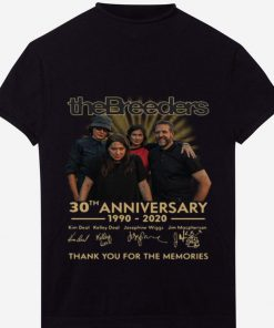Awesome The Breeders 30th Anniversary Thank You For The Memories Signatures shirt 1 1 247x296 - Awesome The Breeders 30th Anniversary Thank You For The Memories Signatures shirt