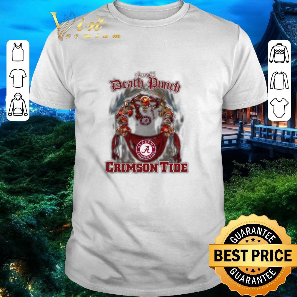 Funny Five finger Death Punch Alabama Crimson Tide flag shirt 1 1 - Funny Five finger Death Punch Alabama Crimson Tide flag shirt