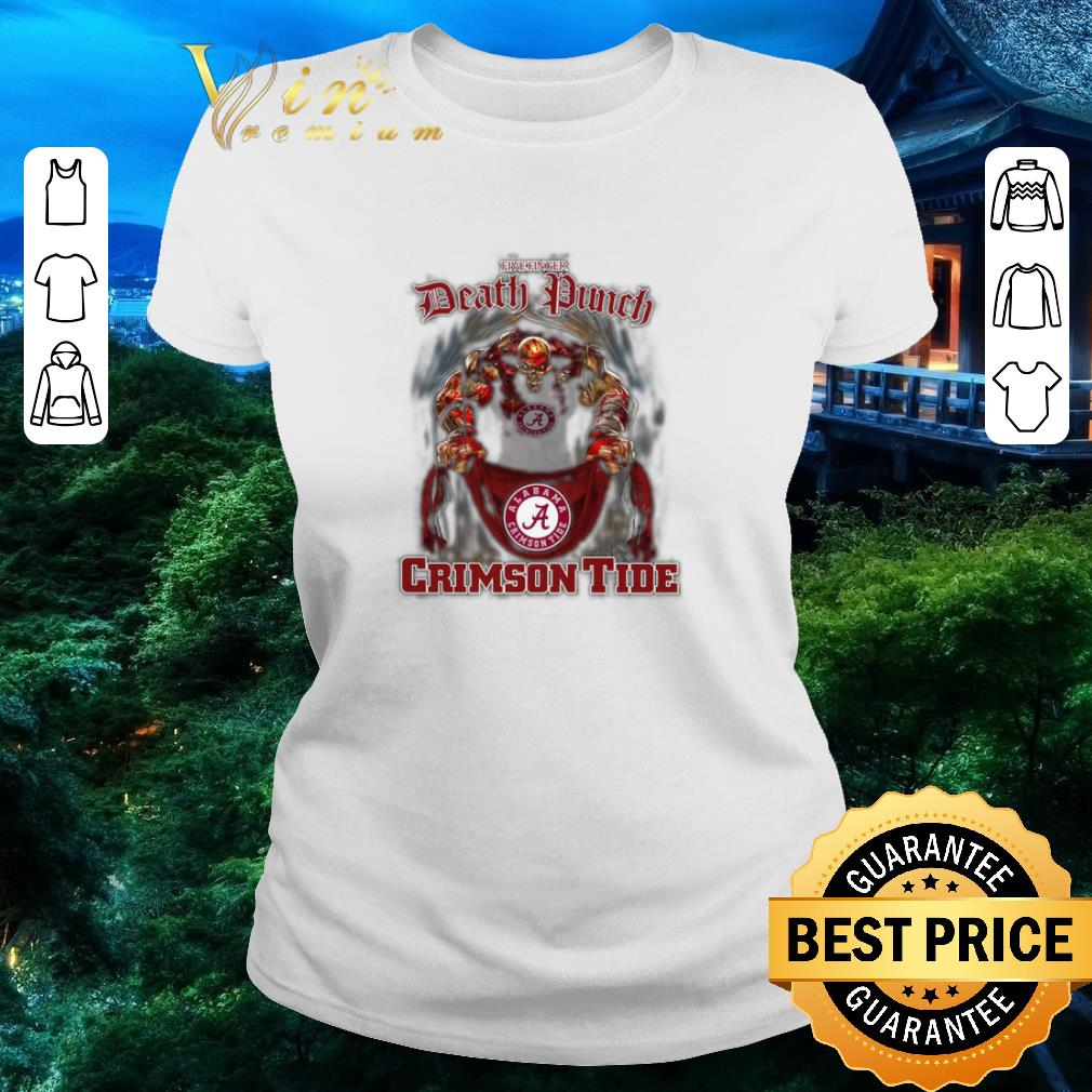 Funny Five finger Death Punch Alabama Crimson Tide flag shirt 2 1 - Funny Five finger Death Punch Alabama Crimson Tide flag shirt