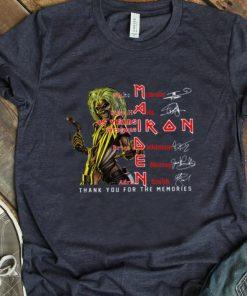 Nice Iron Maiden Nicko McBrain Steve Harris signatures shirt 1 1 247x296 - Nice Iron Maiden Nicko McBrain Steve Harris signatures shirt