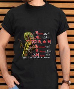 Nice Iron Maiden Nicko McBrain Steve Harris signatures shirt 2 1 247x296 - Nice Iron Maiden Nicko McBrain Steve Harris signatures shirt