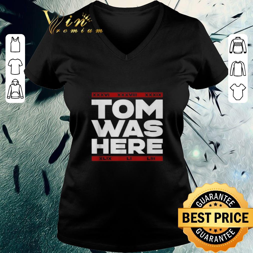 Nice Tom Brady Tom was here shirt 3 2 1 - Nice Tom Brady Tom was here shirt
