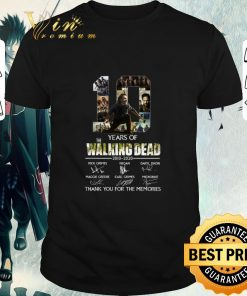 Original 10 Years Of The Walking Dead 2010 2020 Signatures Rick Grimes shirt 1 1 247x296 - Original 10 Years Of The Walking Dead 2010-2020 Signatures Rick Grimes shirt