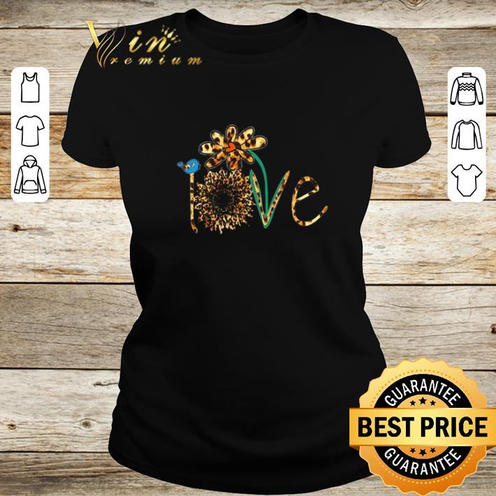 Original Love sunflower leopard daisy flower bird shirt 2 1 - Original Love sunflower leopard daisy flower bird shirt