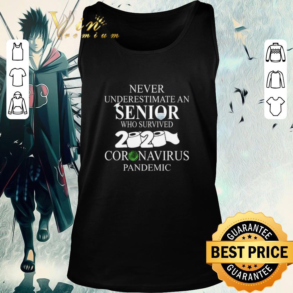 Original Never Underestimate an Senior who survived 2020 Coronavirus Pandemic shirt 2 1 - Original Never Underestimate an Senior who survived 2020 Coronavirus Pandemic shirt