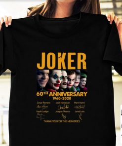 Premium Joker 60th Anniversary 1960 2020 Thank You For The Memories Signatures shirt 1 1 247x296 - Premium Joker 60th Anniversary 1960-2020 Thank You For The Memories Signatures shirt