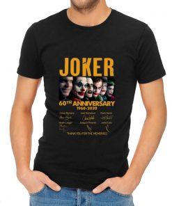 Premium Joker 60th Anniversary 1960 2020 Thank You For The Memories Signatures shirt 2 1 247x296 - Premium Joker 60th Anniversary 1960-2020 Thank You For The Memories Signatures shirt