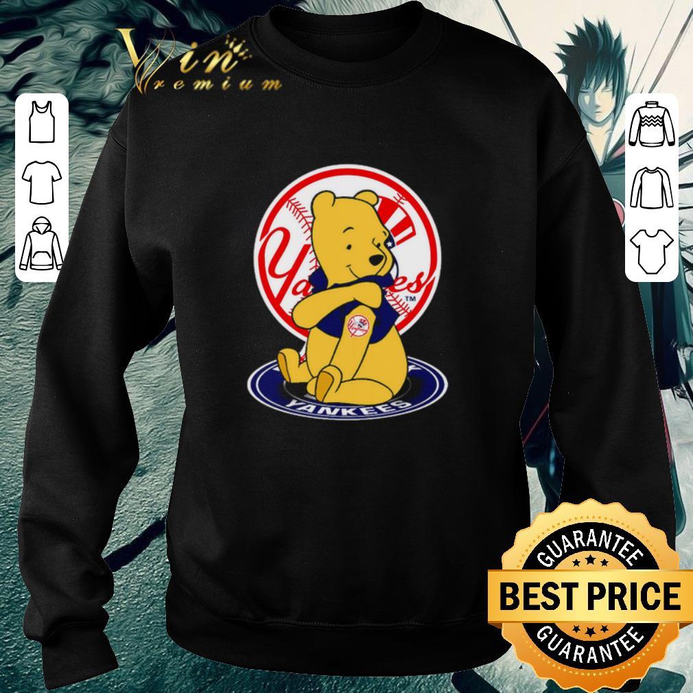 Pretty Pooh tattoos New York Yankees logo shirt