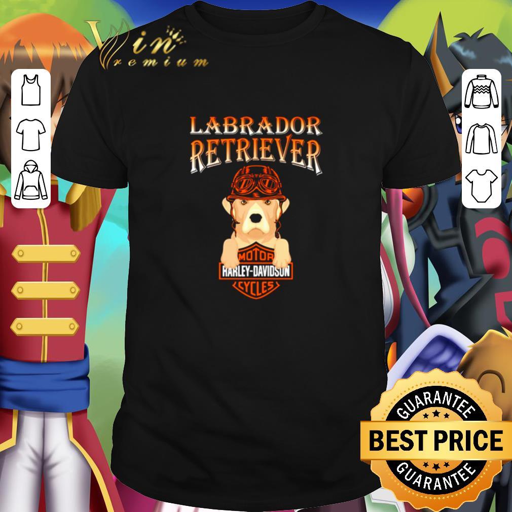 Top Labrador Retriever mashup Motor Harley Davidson Cycles shirt 1 1 - Top Labrador Retriever mashup Motor Harley Davidson Cycles shirt