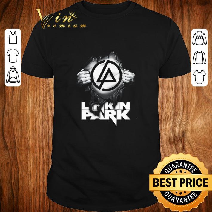 Top Linkin Park Logo blood inside me shirt 1 1 - Top Linkin Park Logo blood inside me shirt