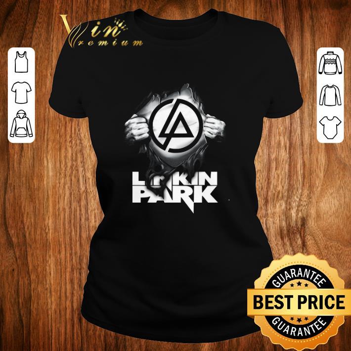 Top Linkin Park Logo blood inside me shirt 2 1 - Top Linkin Park Logo blood inside me shirt