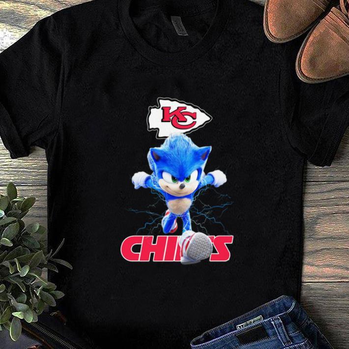 Top Sonic Kansas City Chiefs shirt 1 1 - Top Sonic Kansas City Chiefs shirt