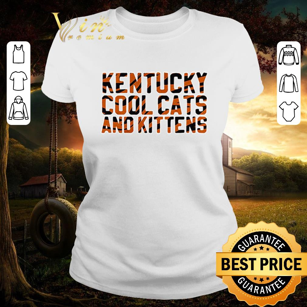 Funny Kentucky cool cats and kittens shirt 2 1 - Funny Kentucky cool cats and kittens shirt