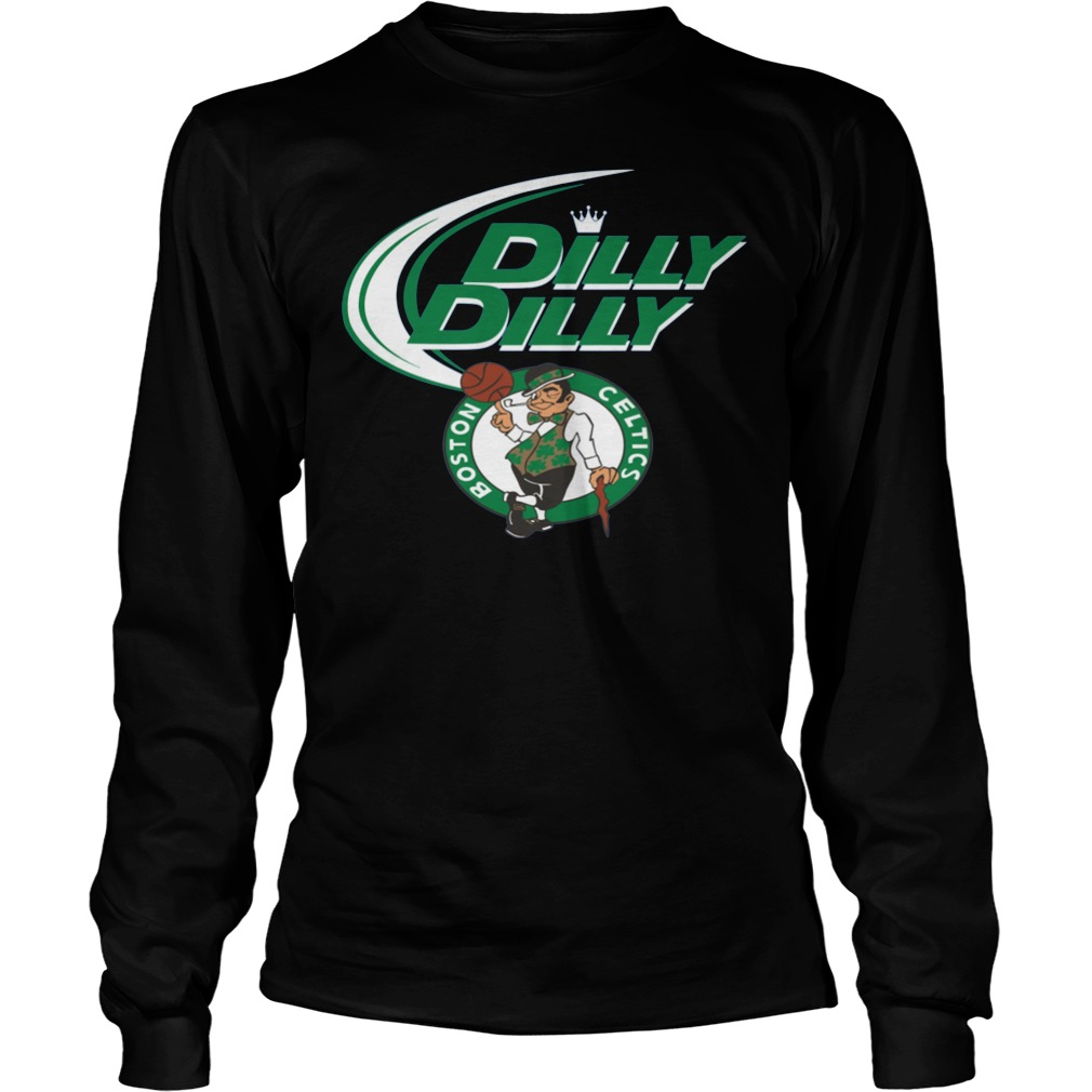Boston Celtics Dilly Dilly Longsleeve - Boston Celtics Dilly Dilly Shirt