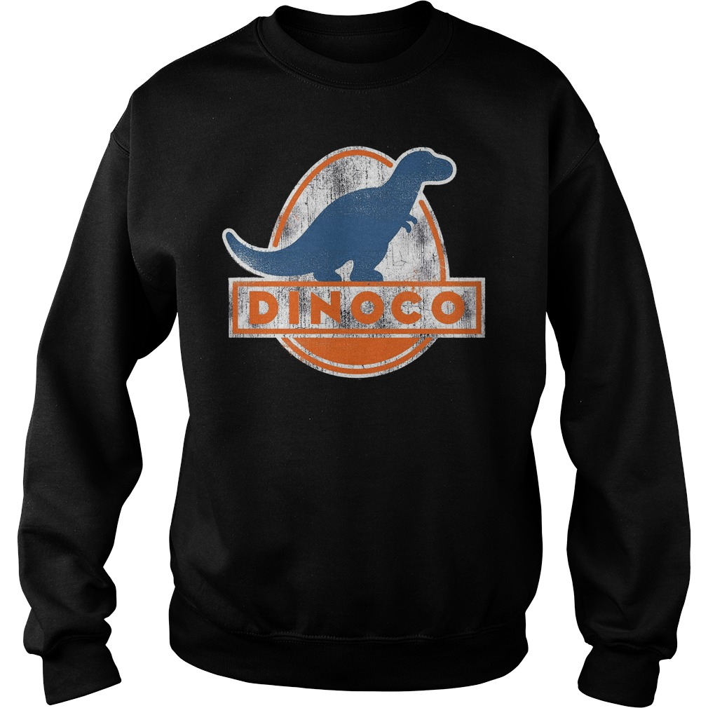 Disney Pixar Cars Iconic Dinoco Dinosaur Sweater