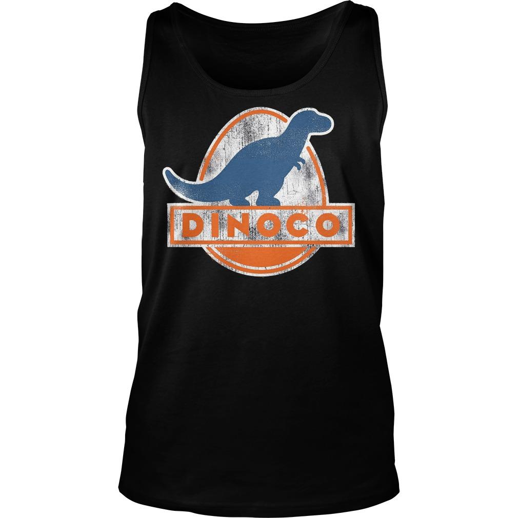 Disney Pixar Cars Iconic DINOCO Dinosaur Tanktop - Disney Pixar Cars Iconic Dinoco Dinosaur Shirt